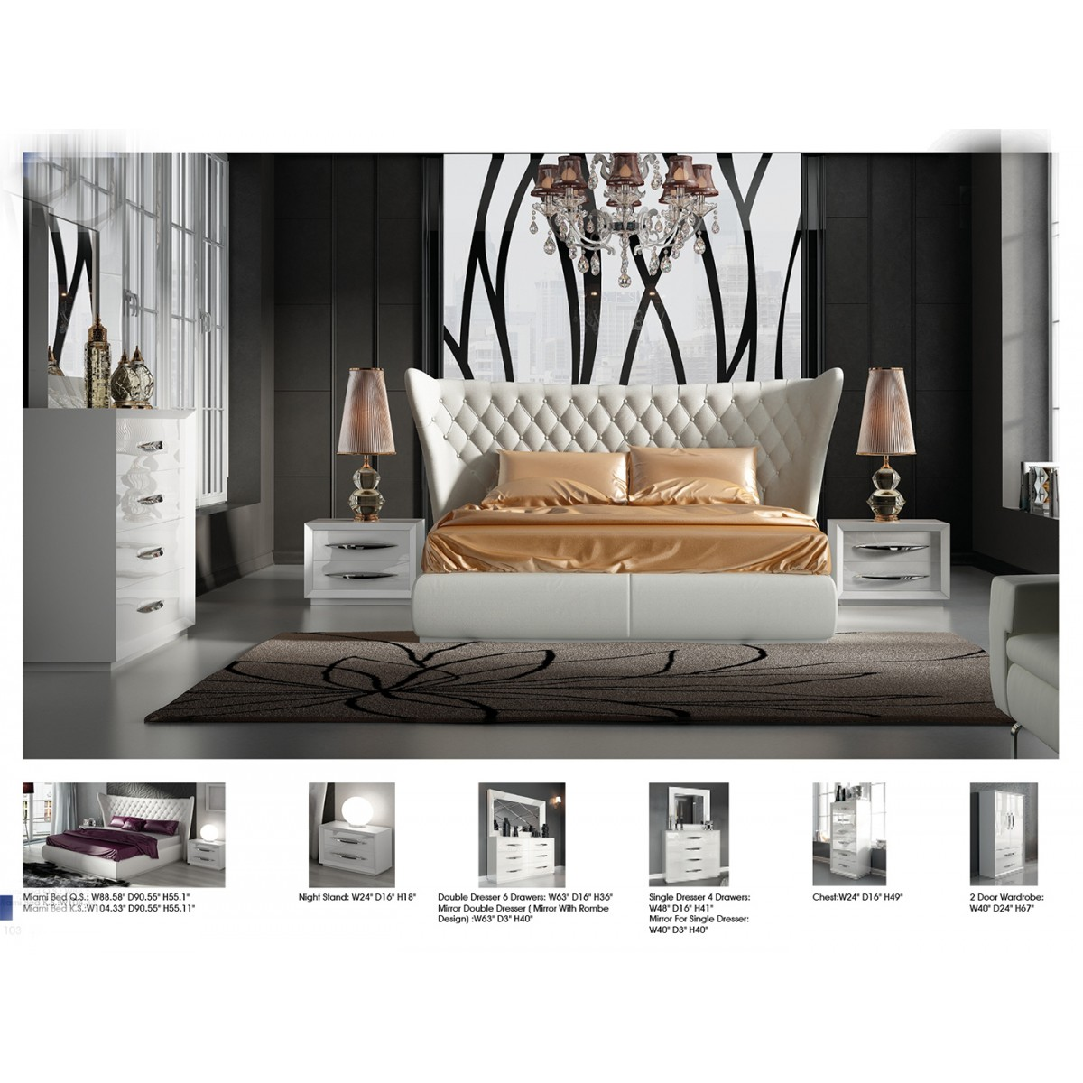 Modern Furniture Miami contemporary & luxury furniture; living room, bedroom,la furniture