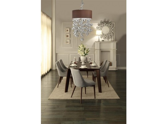 Modern Midcentury Style Dining Set 7 PC Mod: Fillmore Collection