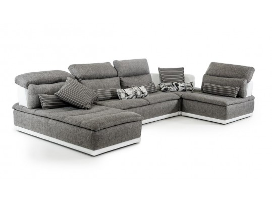 Modular Fabric Sectional