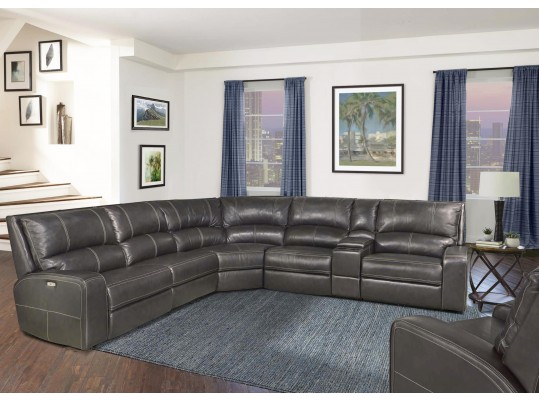 Parker Living Swift Casual Power Reclining Sectional Sofa with Power Headrests