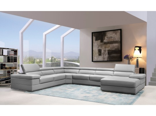 Arco Modern Luxury Leather Sectional