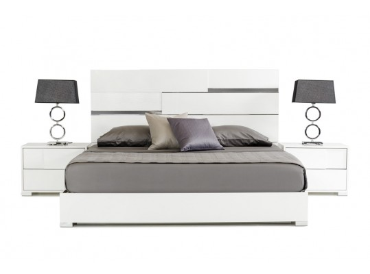 White Modern Italian Bedroom set  ANCONA