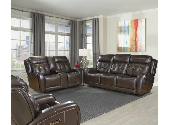 Everest Monaco Dual Power Reclining Living Room Set by Parker Living