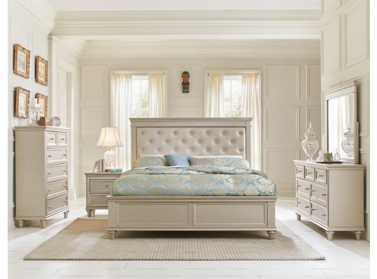 Celandine  Queen Bedroom 6 pc Set