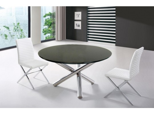 T08 - Modern Round Dining Table
