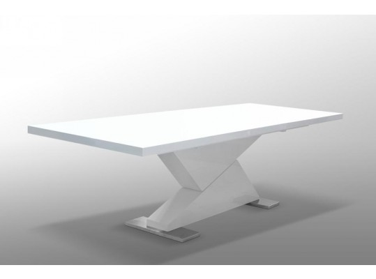 "Bono ""Z"" - Modern White Dining Table"
