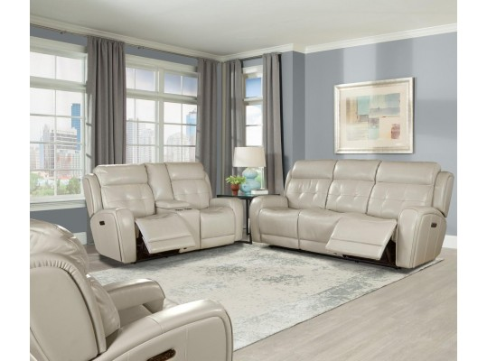 Everest Cloud Dual Power Reclining Living Room Set by Parker Living