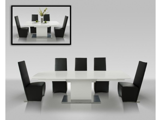 Armani 265 Crocodile Modern Dining Table