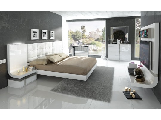 Contemporary Bedroom Laquer Set Mod: Granada