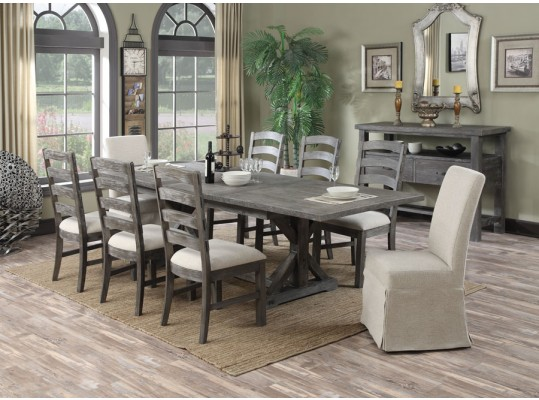 Rustic Urban Style 7PC Dining Set Mod: Paladin
