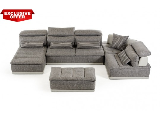Modular Convertible Sofa Sectional Italian Panorama