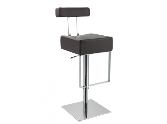 T1054 - Eco-Leather Contemporary Bar Stool
